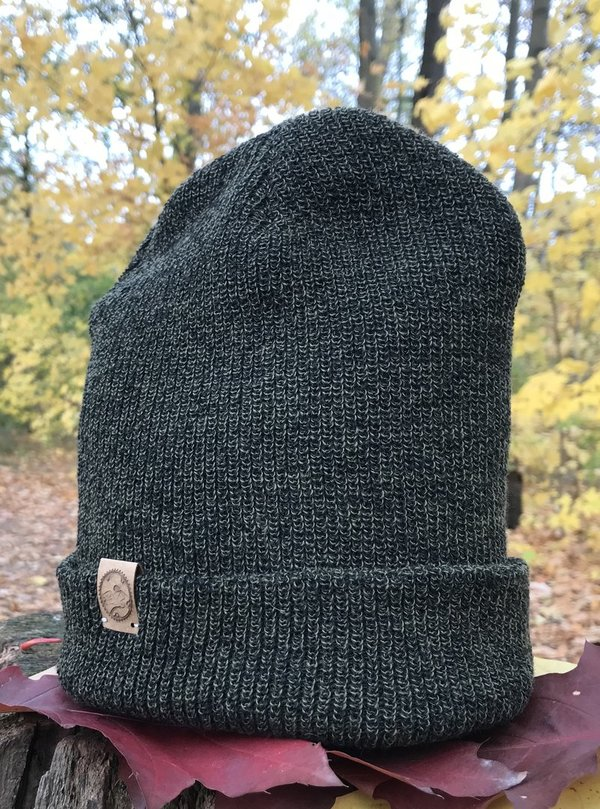 Heritage Beanie Antique Moss Green